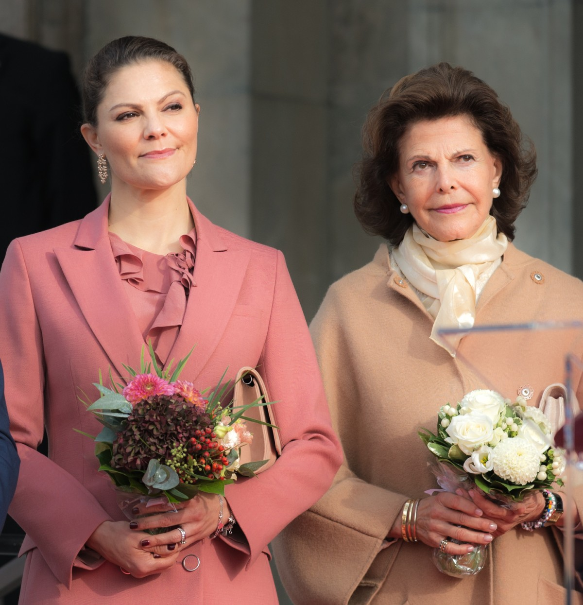 Victoria Crown Princess of Sweden and Queen Silvia of Sweden in 2018