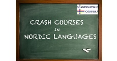 Scandinavian Corner introduces Crash Courses in Nordic languages